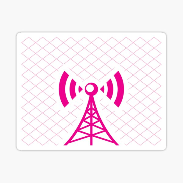Cell Tower Sticker
