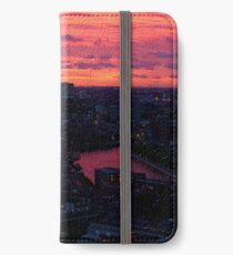 Rotterdam at Sunset, from Euromast iPhone Wallet/Case/Skin