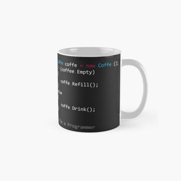 Coding Coffee Programing Classic Mug