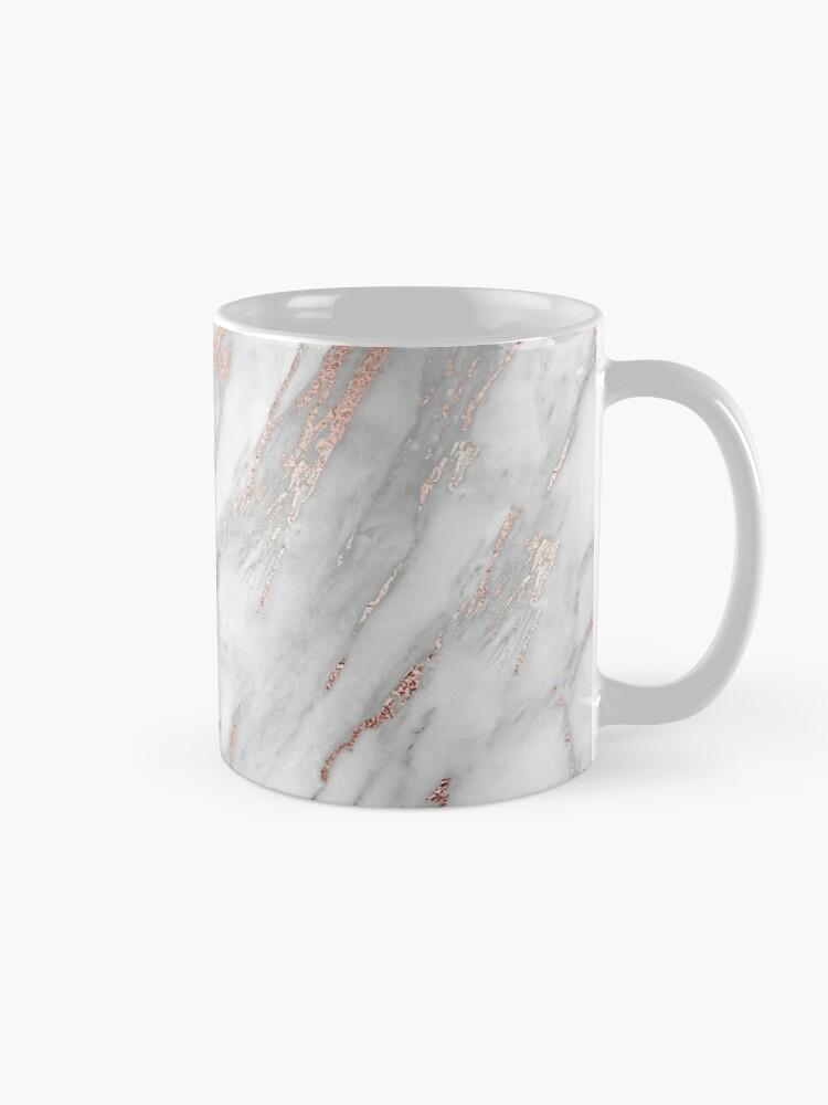Alternative Ansicht von Eleganter Rose Gold Marmor Tasse