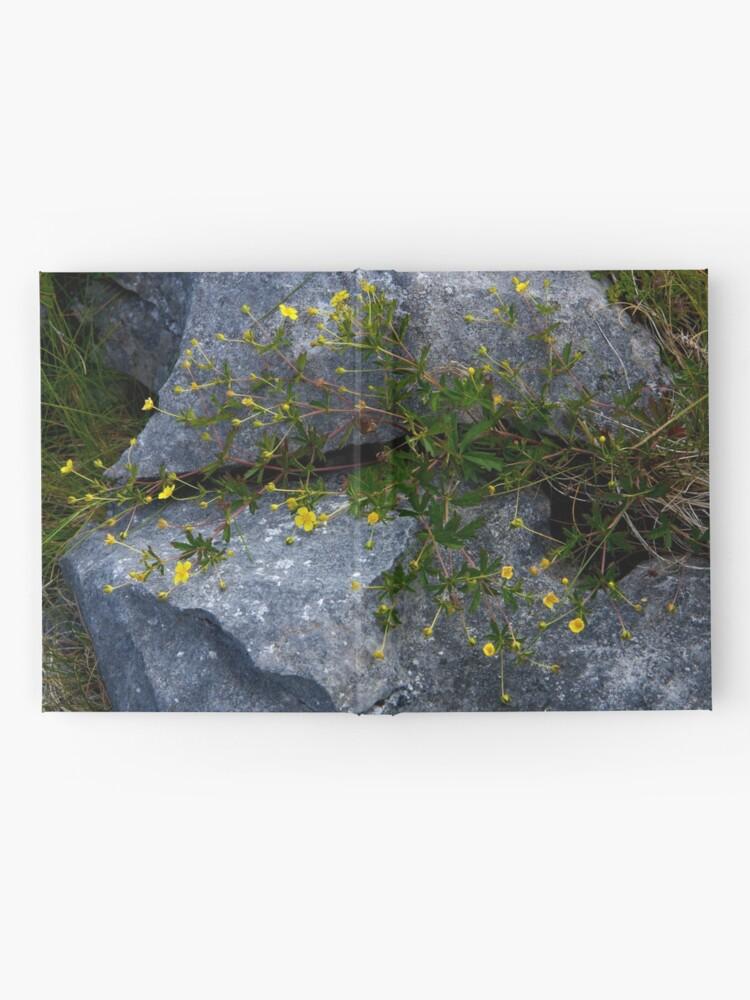 Alternate view of Tormentil, Dun Aengus, Inishmore, Aran Islands Hardcover Journal
