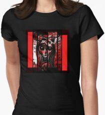Skull girl Women's Fitted T-Shirt