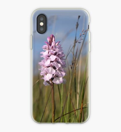 Spotted Orchid,  Portnoo, Co. Donegal iPhone Case