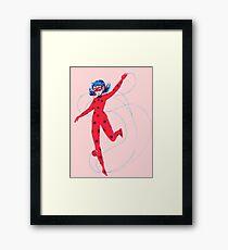 Look a Ladybug! Framed Print