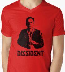DISSIDENT Pete Men's V-Neck T-Shirt