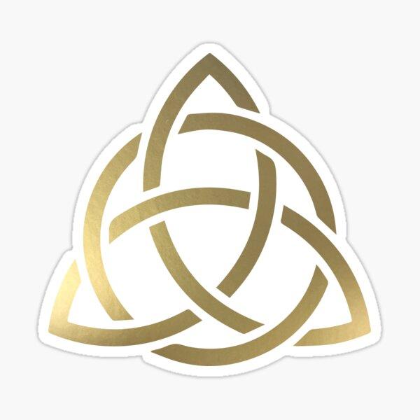 Gold Celtic Knot Sticker