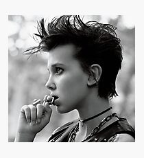 Millie Bobby Brown - Aesthetic Photographic Print