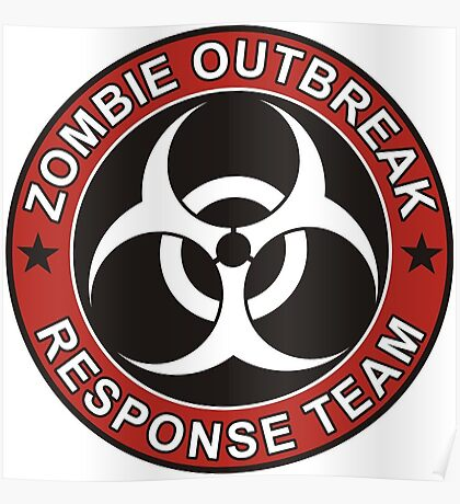 ZOMBIE RESPONSE TEAM 3 color Poster