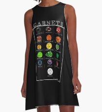 Garnets! Collection A-Line Dress