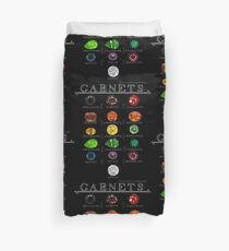 Garnets! Collection Duvet Cover