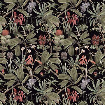 Dark Botanical Stravaganza (variant). by ikerpazstudio