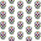 SUGAR SKULL color 0001 by thatstickerguy