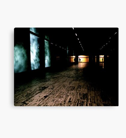 The art of disapearances Canvas Print