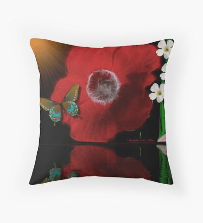 ~ ANEMONE REFLECTIONS ~ Throw Pillow