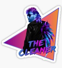 Kenny Omega. The Cleaner. Polygonal Sticker
