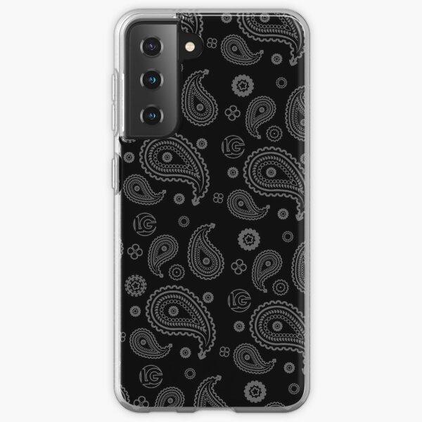 LG - The Modern Man - Art Toy Artwork - Grey Paisley (BLK) Samsung Galaxy Soft Case