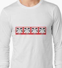 Daruma Tee - Square Row Long Sleeve T-Shirt