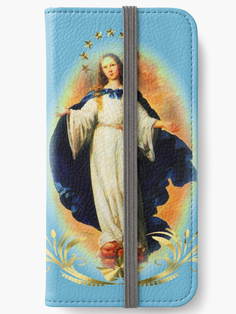 'Immaculate Conception Assumption Virgin Mary Nicaragua Patron Saint '  iPhone Wallet by hispanicworld