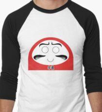 Daruma Tee - Simple Men's Baseball ¾ T-Shirt