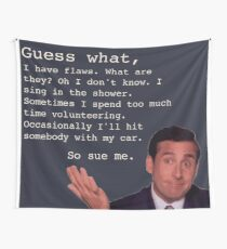 Michael Scott Zitate Wandbehang
