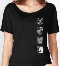 Attack on Titan Branches Women's Relaxed Fit T-Shirt