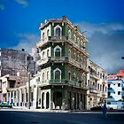 Old Havana from Malecon by Yukondick