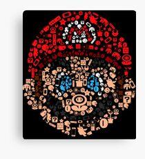 Mario Collage  Canvas Print