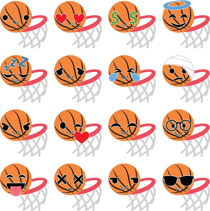 Basketball emoji by hippoemo
