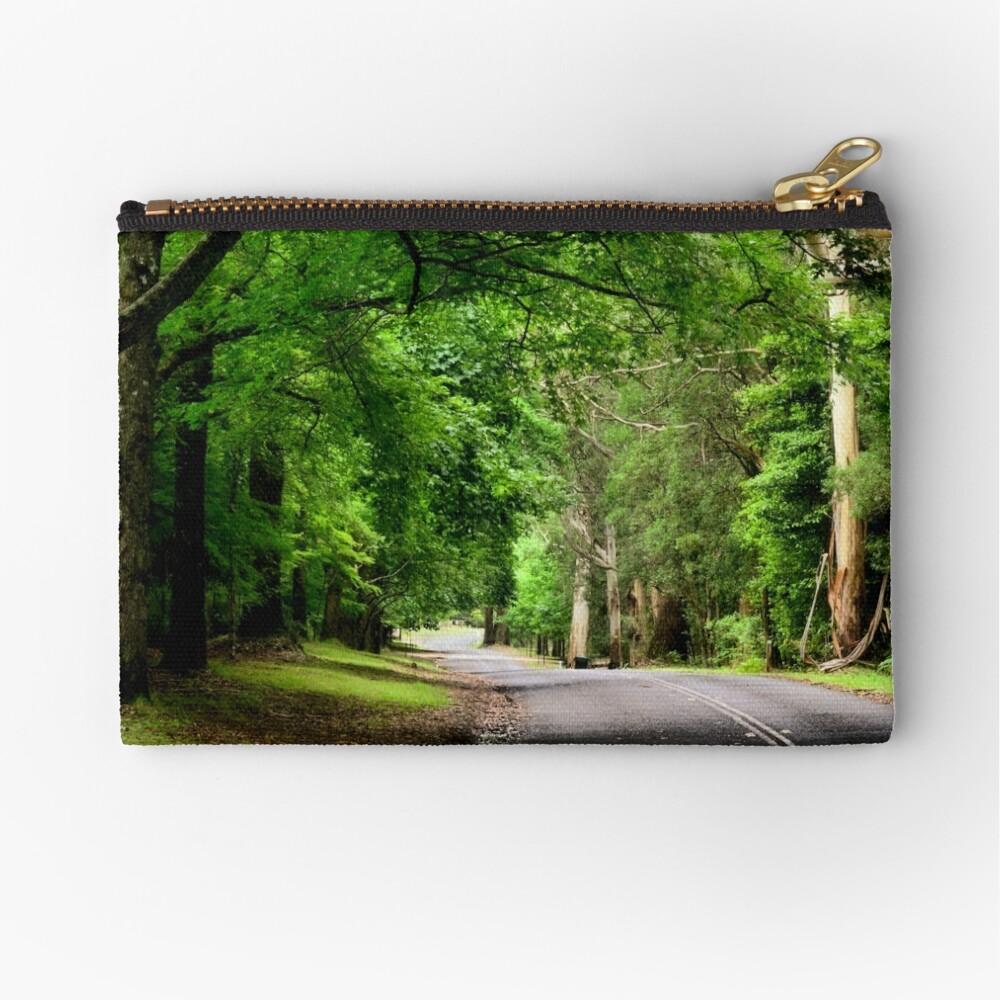 The Avenue near Breenhold - Mt Wilson NSW Australia Zipper Pouch