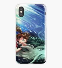 Spirited Away, Haku and Chihiro iPhone Case/Skin