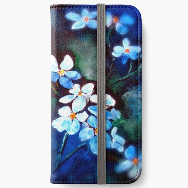 Infinite Meadows...Forget Me Not... iPhone Wallet