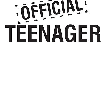 Official Teenager by bravos
