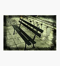 The lonely bench Photographic Print