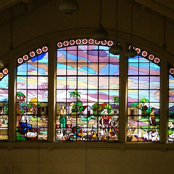 Stainglass window in Sao Paulo by amulya