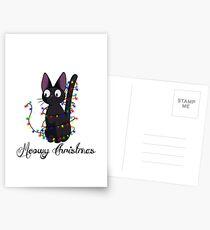 meowy Noël Cartes postales