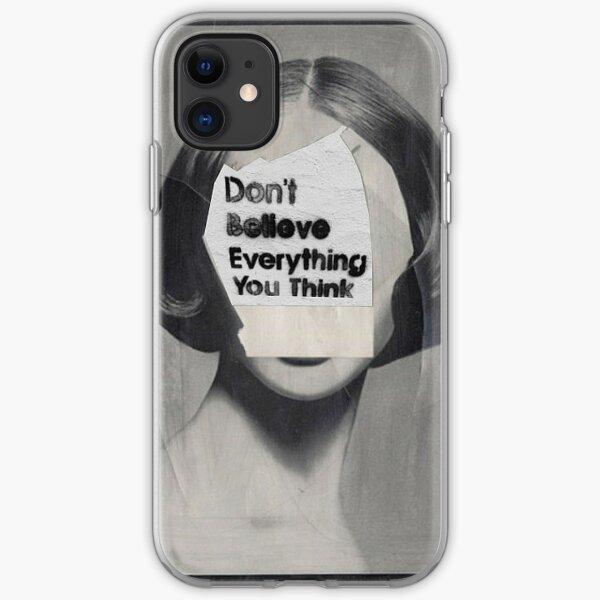 thinker iPhone Soft Case