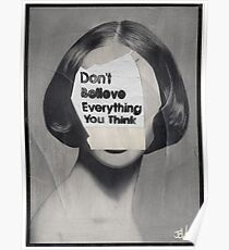 thinker Poster