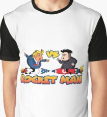 Rocketman Vs The Dotard Graphic T-Shirt