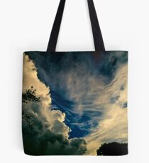 Eerie skyscape Tote Bag