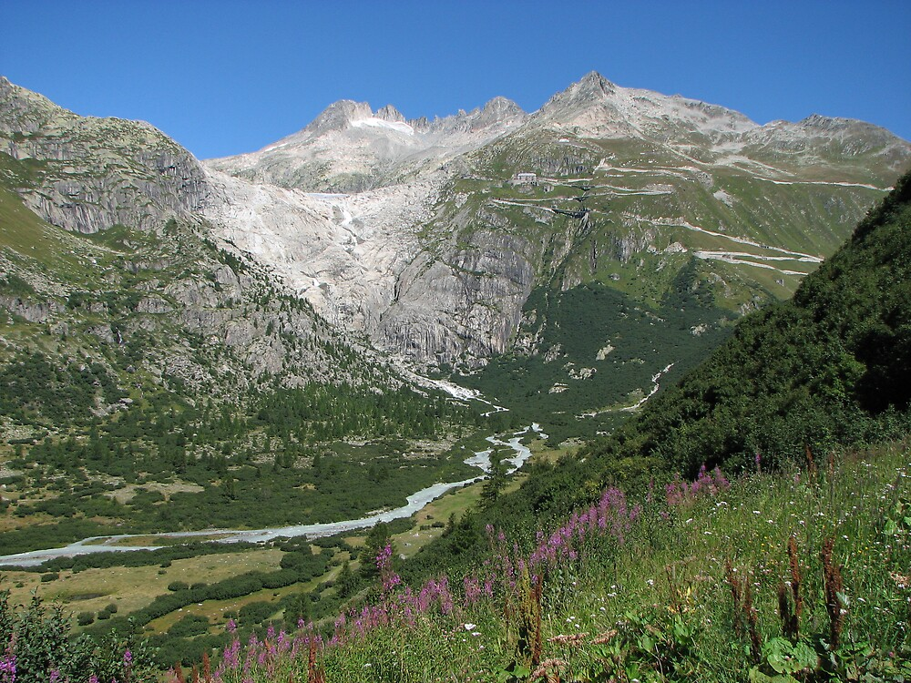 Furka Pass Glacier by grubb1980