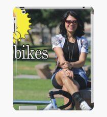 Live 4 Bikes Biker Chick Fixie Girl  iPad Case/Skin