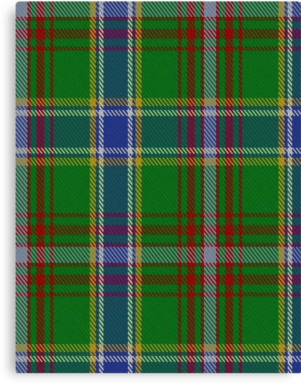 00372 Currie of Arran Clan/Family Tartan  by Detnecs2013
