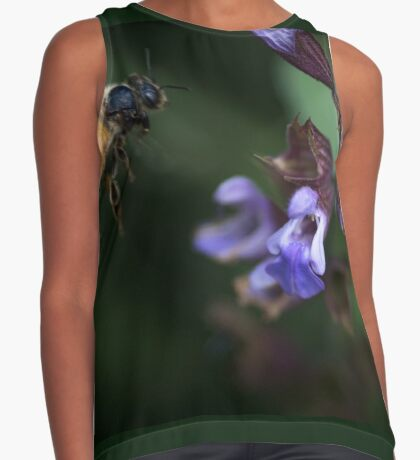 Sage and Honey Contrast Tank
