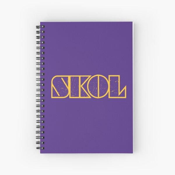 Skol 4 Spiral Notebook