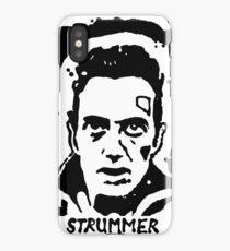 Joe Strummer Block Print iPhone Case/Skin