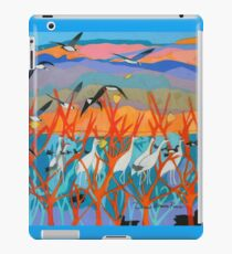 Nine Leaves in the Wind iPad Case/Skin