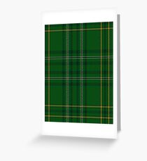 00362 Wexford County (District) Tartan  Greeting Card