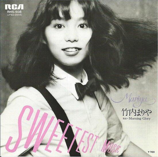 """""""Sweetest Music / 竹内まりや (1980)"""