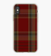 00358 Tyrone County District Tartan  iPhone Case
