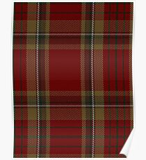 00358 Tyrone County District Tartan  Poster